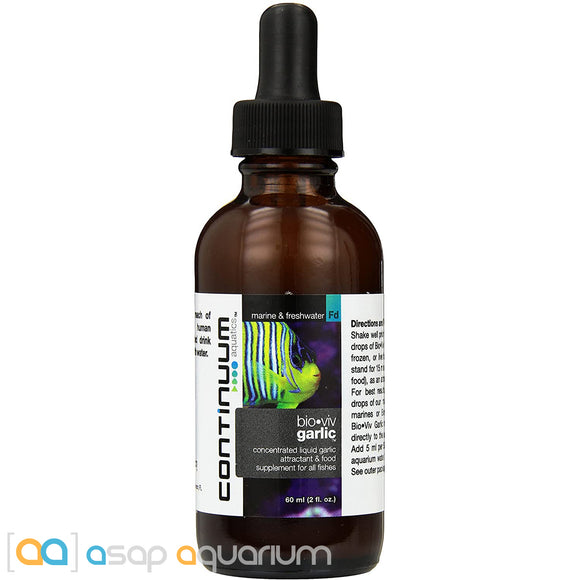 Continuum Bio-Viv Garlic 60mL ASAP-Aquarium.com