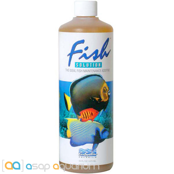 EcoSystem Aquarium Fish Solution 16 oz. - ASAP Aquarium
