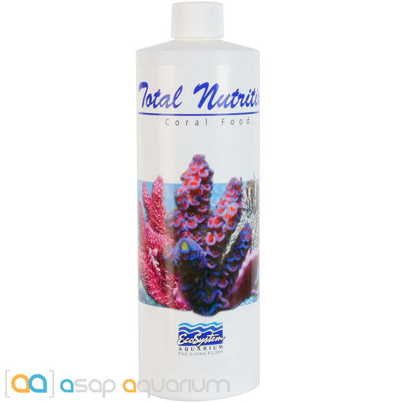 EcoSystem Aquarium Total Nutrition Coral Food 16 oz. - ASAP Aquarium