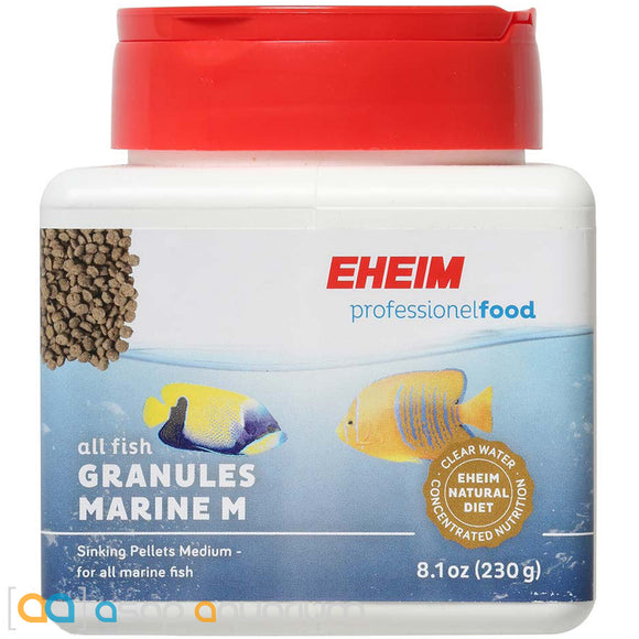 Eheim Professional Granules Marine M 8.1 oz Fish Food Medium Pellets