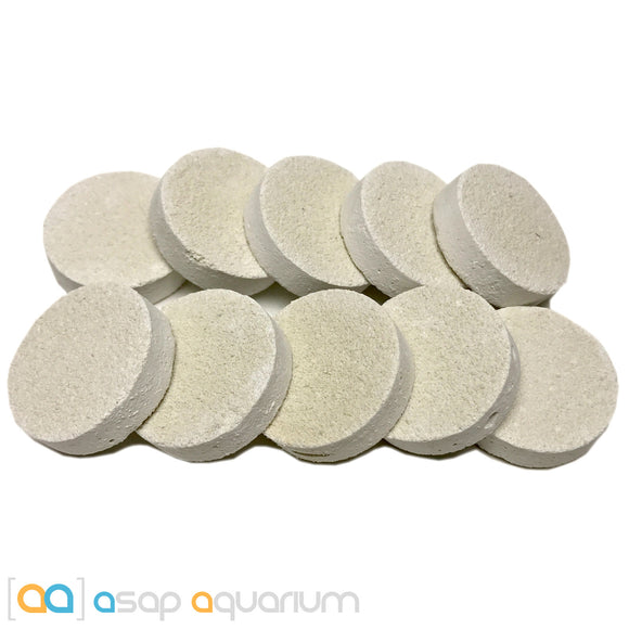 10 Reef Frag Discs Cured for Live Coral Propagation - ASAP Aquarium