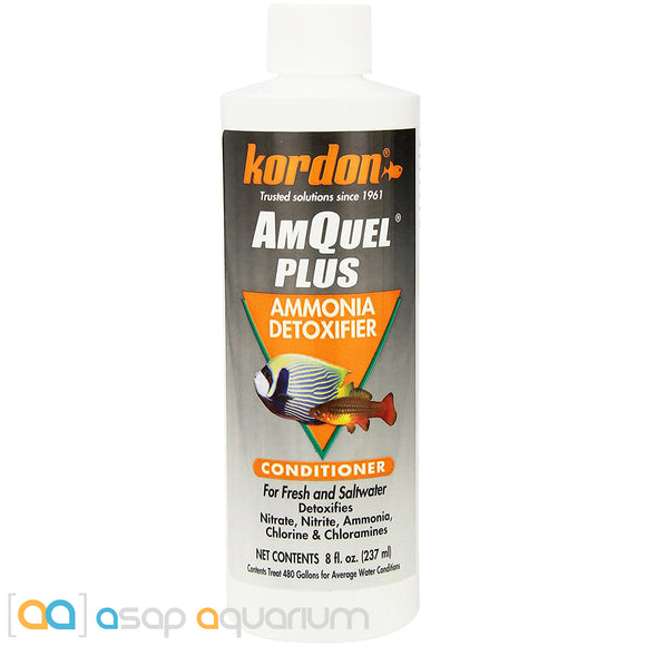 Kordon AmQuel Plus 8 oz - ASAP Aquarium