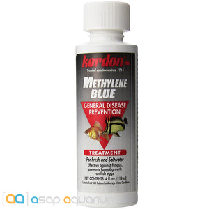 Kordon Methylene Blue 4 oz - ASAP Aquarium