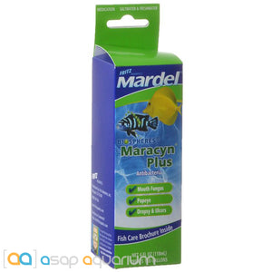 Mardel Maracyn Plus Antibacterial Medication 4 oz - ASAP Aquarium