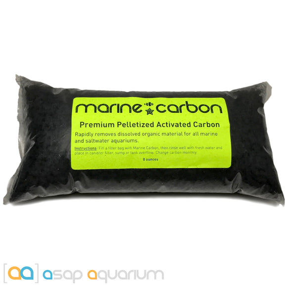 Marine Carbon 8 oz. Premium Activated Pelletized Carbon for Marine and Saltwater Aquariums - ASAP Aquarium