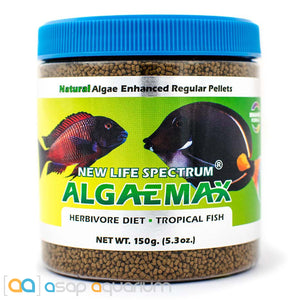 New Life Spectrum ALGAEMAX Regular Pellet 150g Fish Food