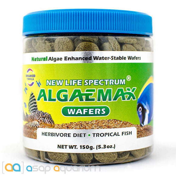 New Life Spectrum ALGAEMAX Wafers 150g Fish Food - ASAP Aquarium