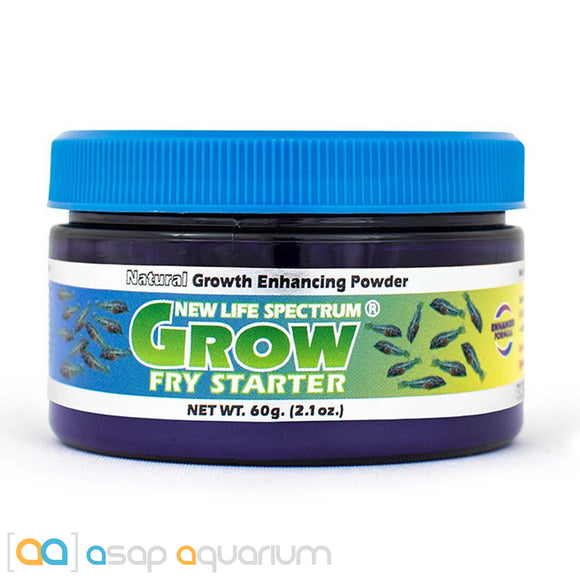 New Life Spectrum GROW FRY STARTER Powder 60g Baby Fish Food - ASAP Aquarium