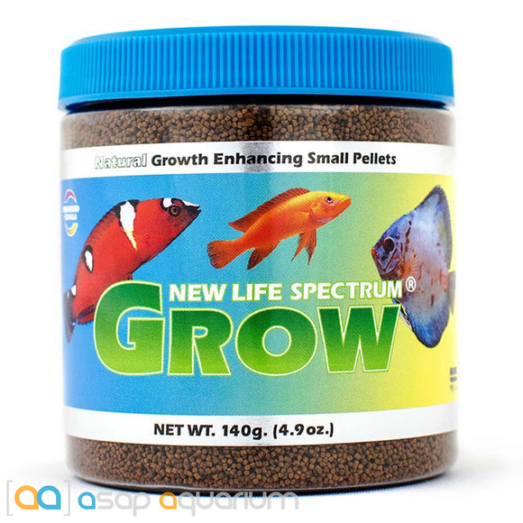 New Life Spectrum GROW Small Pellet 140g Baby Fish Food