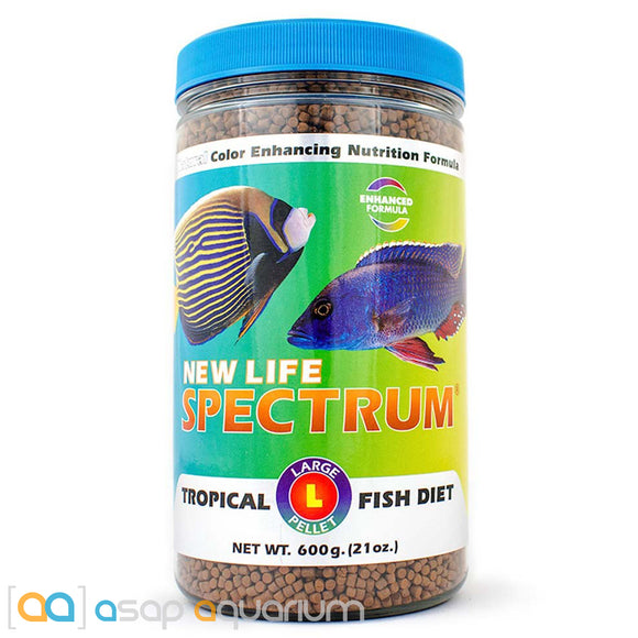 New Life Spectrum TROPICAL FISH Large Pellet 600g Fish Food