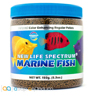 New Life Spectrum MARINE FISH Pellets 150g Saltwater Fish Food - ASAP Aquarium