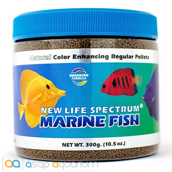 New Life Spectrum MARINE FISH Pellets 300g Saltwater Fish Food - ASAP Aquarium