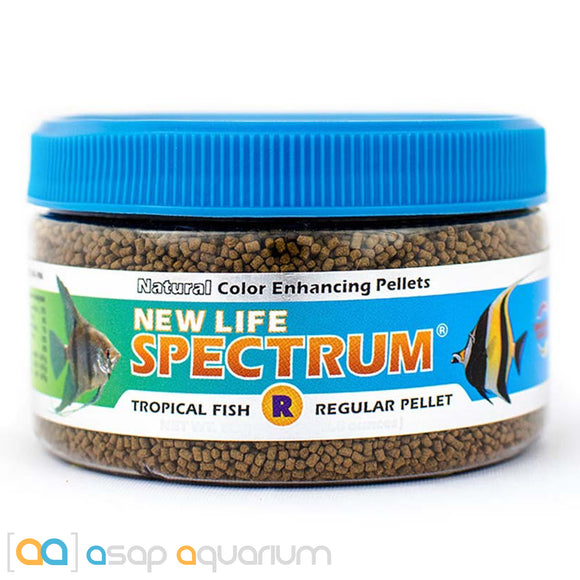 New Life Spectrum TROPICAL FISH Regular Pellet 80g Fish Food - ASAP Aquarium