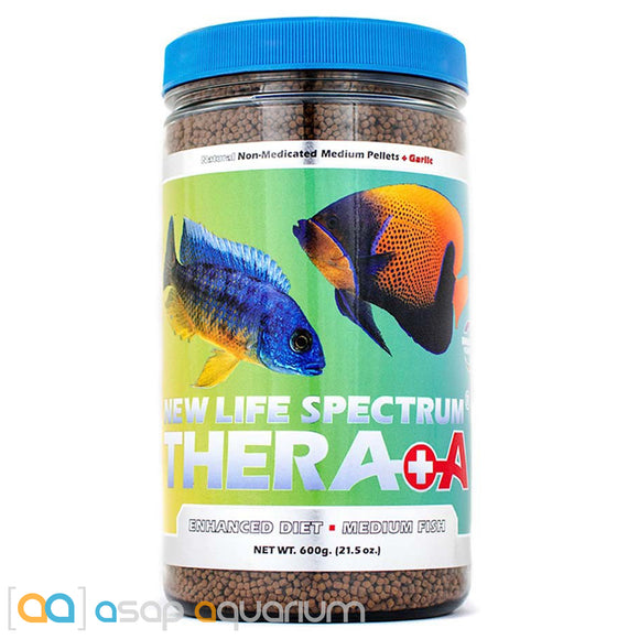 New Life Spectrum THERA +A Medium Pellet 600g Fish Food - ASAP Aquarium
