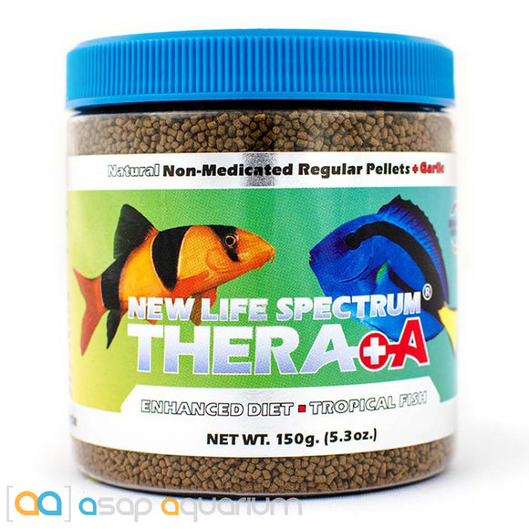 New Life Spectrum THERA +A Regular Pellet 150g Fish Food - ASAP Aquarium