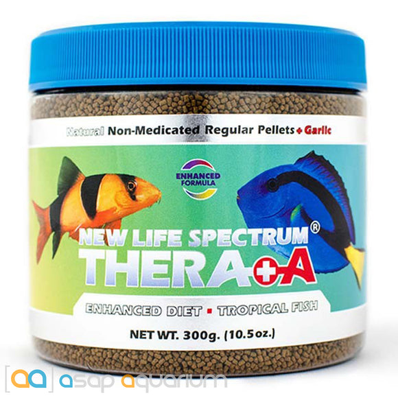 New Life Spectrum THERA +A Regular Pellet 300g Fish Food - ASAP Aquarium