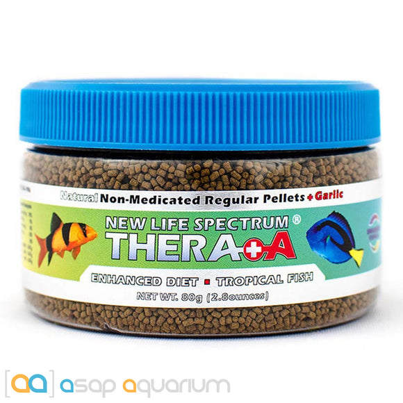 New Life Spectrum THERA +A Regular Pellet 80g Fish Food - ASAP Aquarium