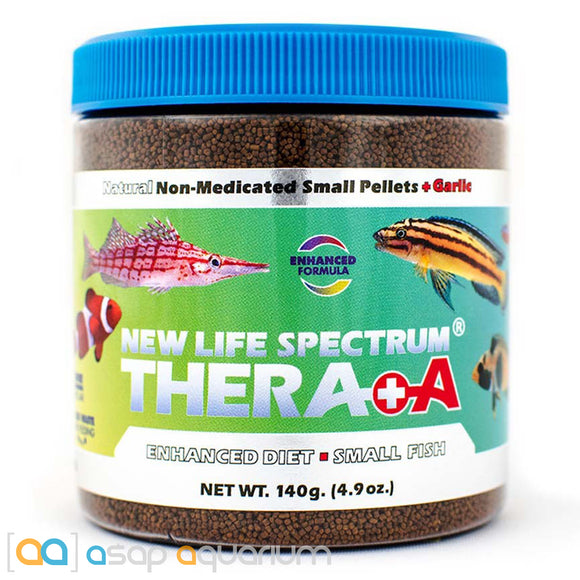 New Life Spectrum THERA +A Small Pellet 140g Fish Food - ASAP Aquarium