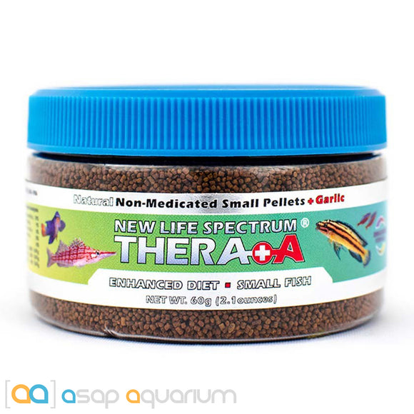 New Life Spectrum THERA +A Small Pellet 60g Fish Food - ASAP Aquarium