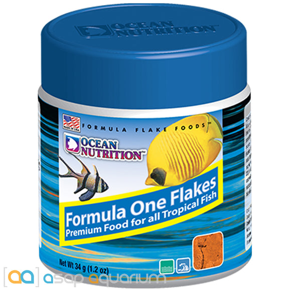 Ocean Nutrition Formula One Flakes 34 grams (1.2 oz) Fish Food
