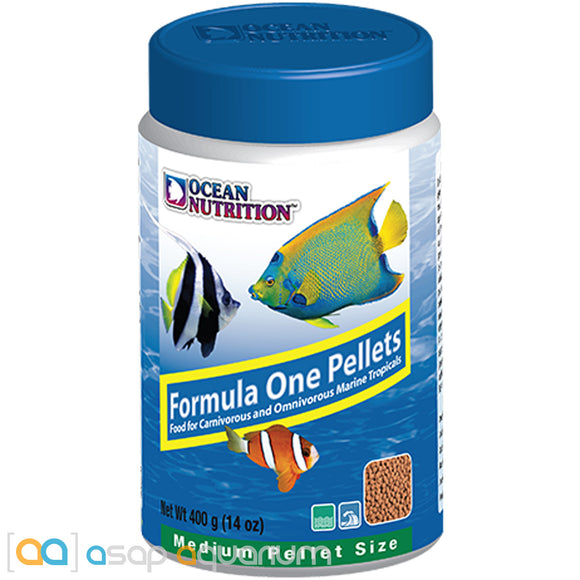 Ocean Nutrition Formula One Pellets MEDIUM 400 grams (14 oz) Fish Food