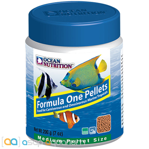Ocean Nutrition Formula One Pellets MEDIUM 200 grams (7 oz) Fish Food