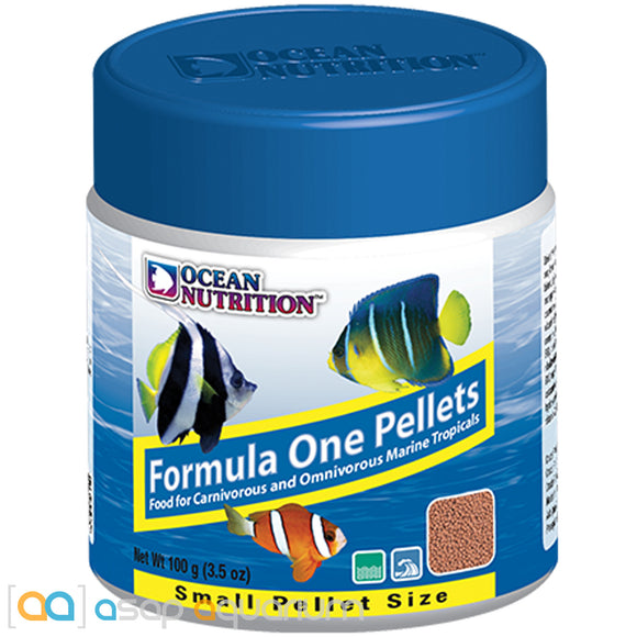 Ocean Nutrition Formula One Pellets SMALL 100 grams (3.5 oz) Fish Food
