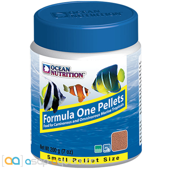 Ocean Nutrition Formula One Pellets SMALL 200 grams (7 oz) Fish Food