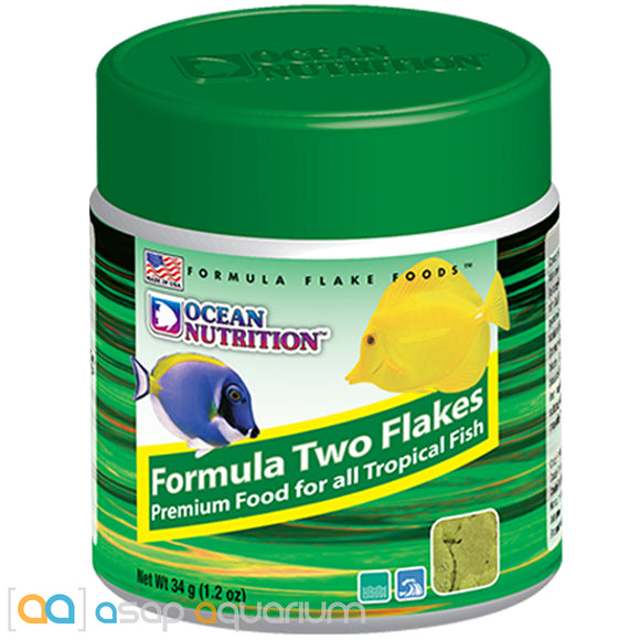 Ocean Nutrition Formula Two Flakes 34 grams (1.2 oz) Fish Food