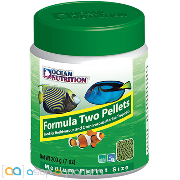 Ocean Nutrition Formula Two Pellets MEDIUM 200 grams (7 oz) Fish Food