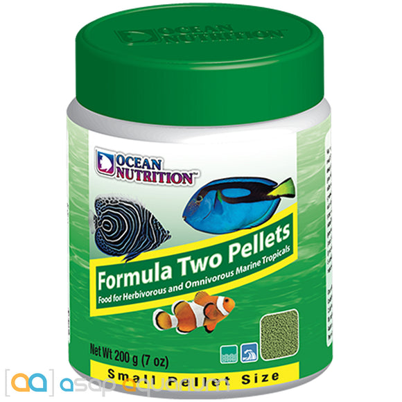Ocean Nutrition Formula Two Pellets SMALL 200 grams (7 oz) Fish Food