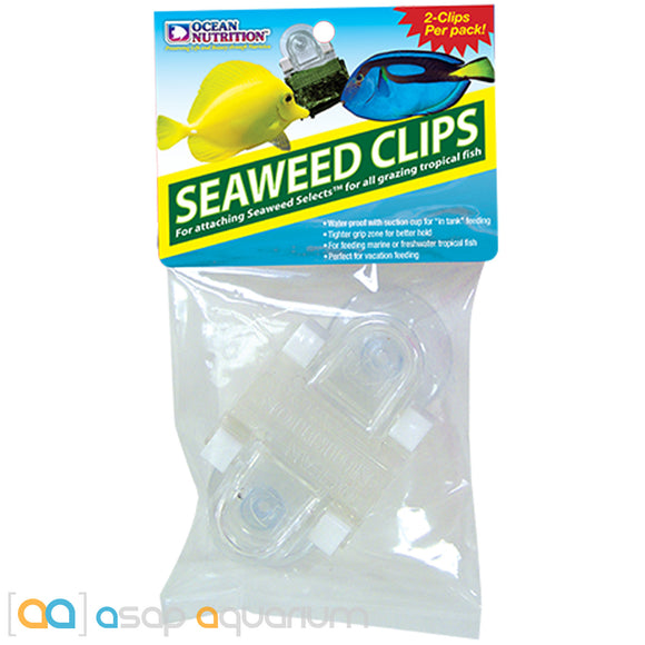 Ocean Nutrition Feeding Frenzy Seaweed Clips (2 pack) - ASAP Aquarium