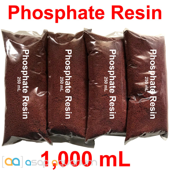 ZERO PHOS Resin 1000 mL PLUS Filter Bag - ASAP Aquarium