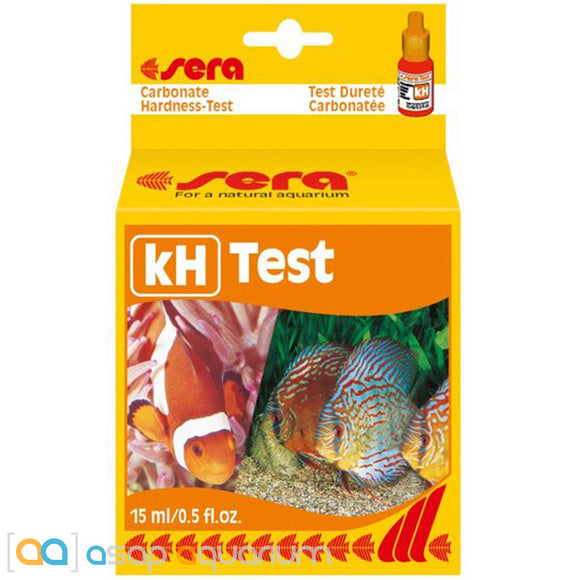 Sera Alkalinity KH Carbonate Hardness Test Kit - ASAP Aquarium