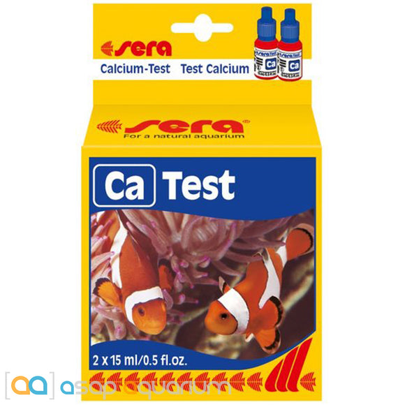 Sera Calcium CA Test Kit - ASAP Aquarium