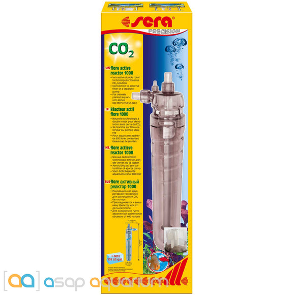 Sera Flore CO2 Active Reactor 1000 for Freshwater Planted Aquariums - ASAP Aquarium