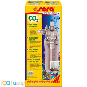 Sera Flore CO2 Active Reactor 500 for Freshwater Planted Aquariums - ASAP Aquarium