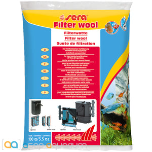 Sera Filter Wool 100 grams (3.5 oz.) - ASAP Aquarium