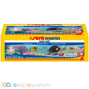 Sera Marin Reef Salt 10.6 US Gallons - ASAP Aquarium
