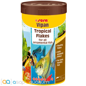 Sera Vipan 2.1 oz Tropical Fish Food Flakes - ASAP Aquarium