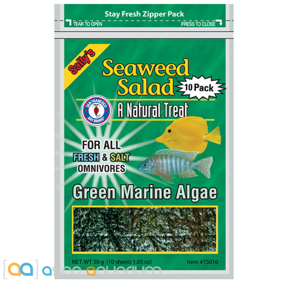 San Francisco Bay Brand Green Seaweed Salad 10 Sheets