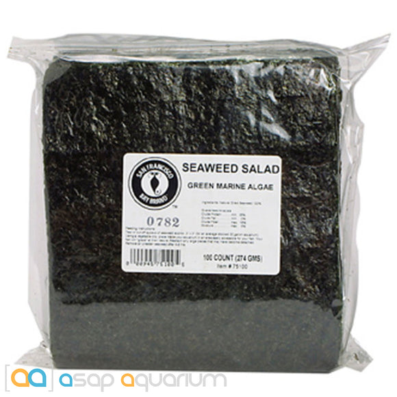 San Francisco Bay Brand Green Seaweed Salad 100 Sheets