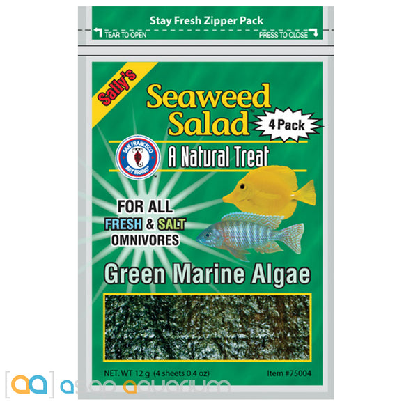 San Francisco Bay Brand Green Seaweed Salad 4 Sheets