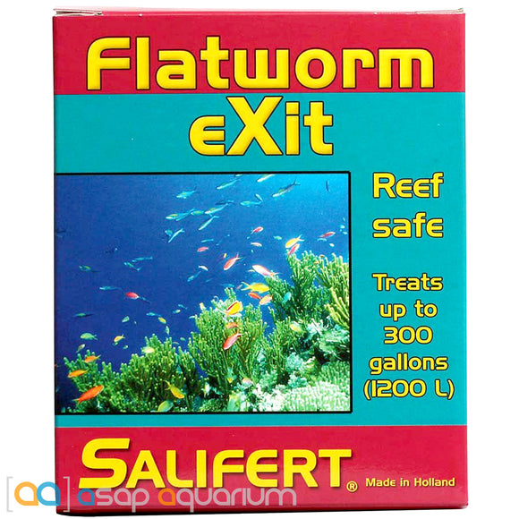 Salifert Flatworm Exit 0.35 oz. Aquarium Reef Safe Flatworm Treatment - ASAP Aquarium