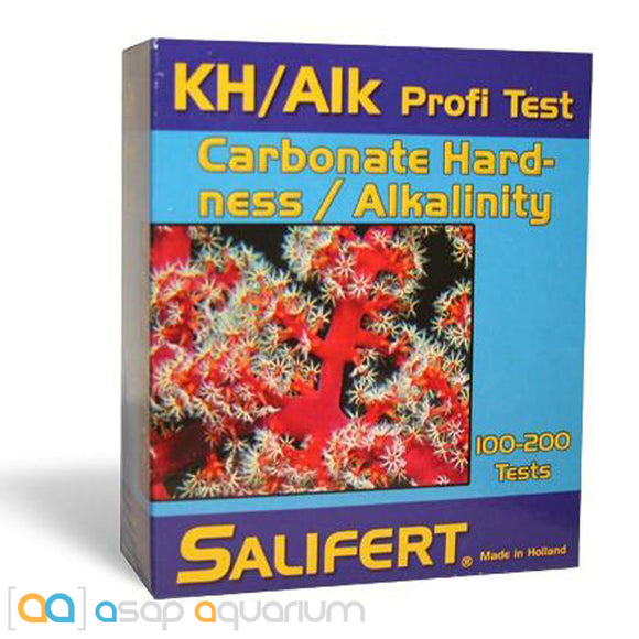 Salifert KH/ALK Aquarium Water Test Kit Carbonate Hardness & Alkalinity - ASAP Aquarium
