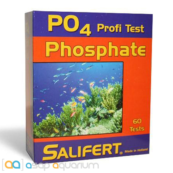 Salifert Phosphate Test Kit PO4 Aquarium Water Test Kit - ASAP Aquarium