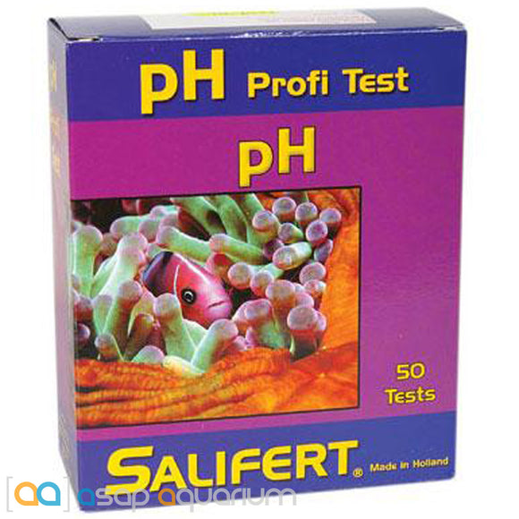 Salifert pH Test Kit Aquarium Water Test Kit - ASAP Aquarium