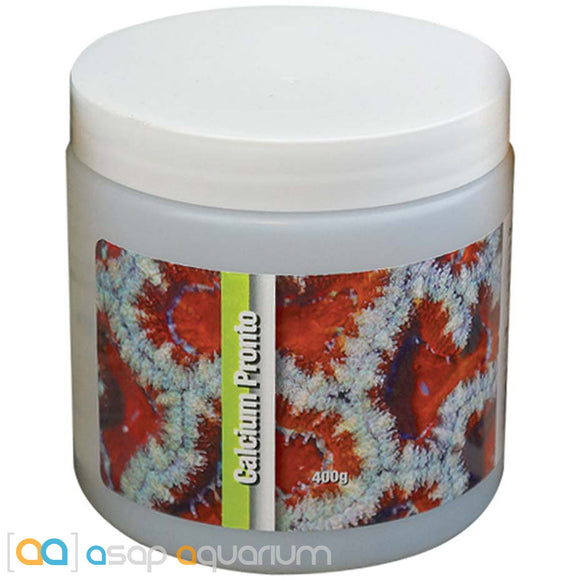 Two Little Fishies Calcium Pronto 400 grams Instant Reef Calcium Supplement - ASAP Aquarium