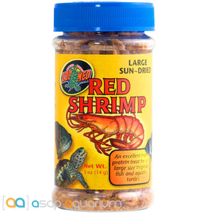 Zoo Med Red Shrimp Fish Food 0.5 oz. - ASAP Aquarium