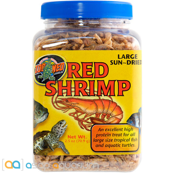 Zoo Med Red Shrimp Fish Food 2.5 oz